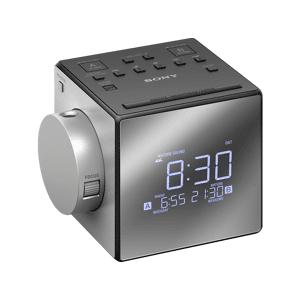 Sony MPE Wekkerradio zilver