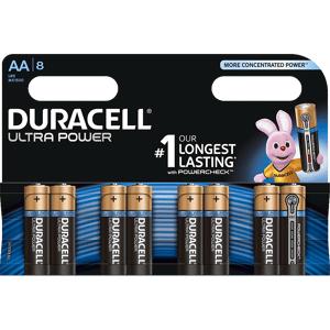 Duracell Ultra Power AA-batterijen 8 pack
