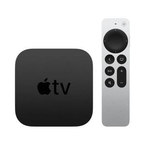 Apple TV mediaspeler 4K 64 GB.