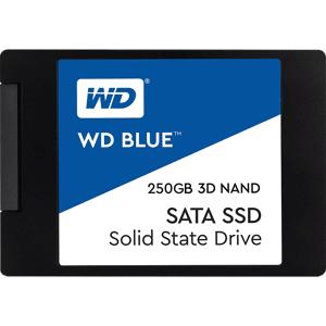 "Western Digital Interne SSD harde schijf 250 GB 3D NAND 2.5"" SATA III Blue"