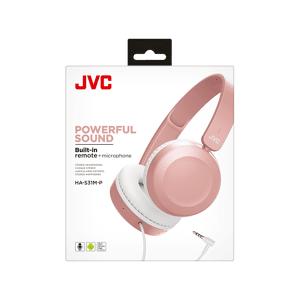 JVC Hoofdtelefoon Roze