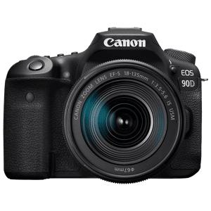 Canon Reflexcamera EOS 90D - 18-135mm