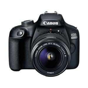 Canon Reflexcamera EOS 4000D + 18-55mm + 75-300mm