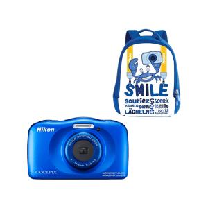 Nikon Compact camera Coolpix W150 Blauw + Rugzak