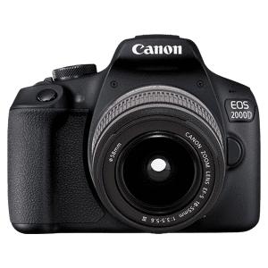 Canon Reflexcamera EOS 2000D + EF-S 18-55mm III