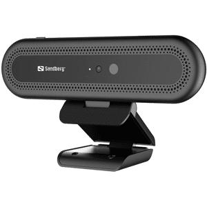 Sandberg Webcam Face Recognition 1080P HD Zwart