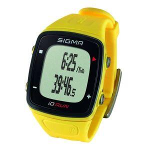Sigma Sporthorloge GPS iD.RUN geel 24810
