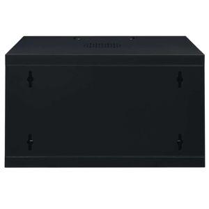 """vidaXL 6U Netwerkkast voor aan de muur 19"""" IP20 550x450x368 mm"""