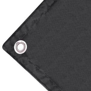 vidaXL Balkonscherm Oxford textiel 75x600 cm antraciet