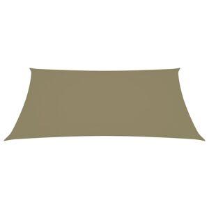 vidaXL Zonnescherm rechthoekig 2,5x3,5 m oxford stof beige