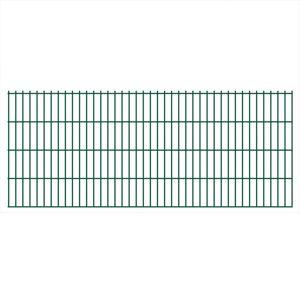 vidaXL Dubbelstaafmat 2008 x 830 mm 46 m groen 23 stuks