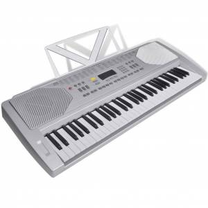 vidaXL Elektrisch keyboard met 61 toetsen en bladmuziek houder