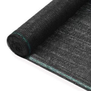 vidaXL Tennisnet 1,6x100 m HDPE zwart