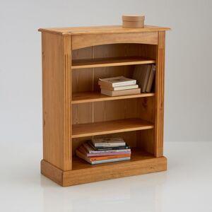 LA REDOUTE INTERIEURS Bibliotheek, laag model in massief dennenhout, Authentic Style
