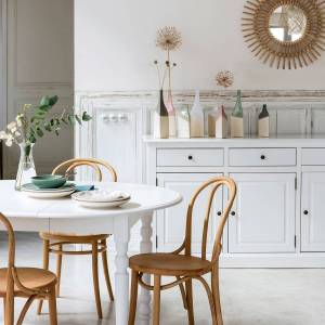 LA REDOUTE INTERIEURS Buffetkast, 3 deuren en 3 lades, Authentic Style