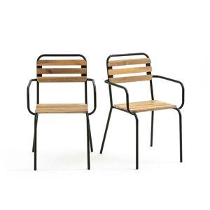 LA REDOUTE INTERIEURS Set van 2 fauteuils voor in de tuin Juragley