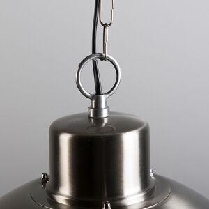 QAZQA Lampe suspendue rétro acier - Coquille