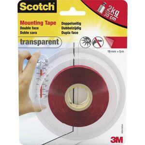 3M Scotch 40041950 Montagetape Transparant (l x b) 5 m x 19 mm 1 stuk(s)
