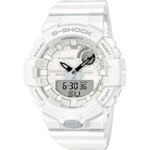 Casio Zendergestuurd Horloge GBA-800-7AER (l x b x h) 51.1 x 48.6 x 15.5 mm Wit Materiaal (behuizing): Hars Materiaal (armband): Hars