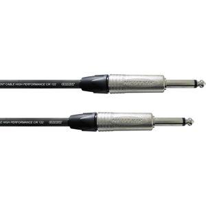 Cordial Pro Line Instrumenten Kabel [1x Jackplug male 6.3 mm - 1x Jackplug male 6.3 mm] 6.00 m Zwart