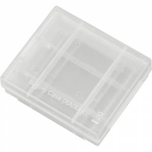 Conrad energy Battery-Box 4 Batterijbox Aantal cellen: 4 AAA (potlood), AA (penlite) (l x b x h) 67 x 55 x 22 mm