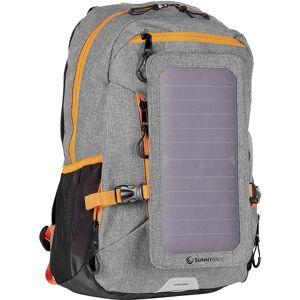SunnyBag Solarrugzak Explorer+ 15 l (b x h x d) 290 x 370 x 140 mm Grijs, Oranje 135F_01