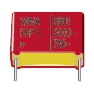 Wima FKP1U001504B00KSSD 1 stuk(s) FKP-foliecondensator Radiaal bedraad 150 pF 2000 V/DC 10 % 15 mm (l x b x h) 18 x 5 x 11 mm