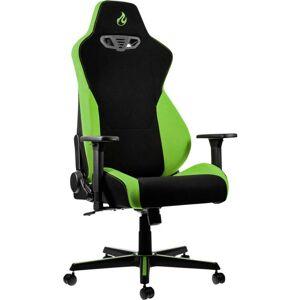 Nitro Concepts S300 Atomic Green Gaming stoel Zwart, Groen