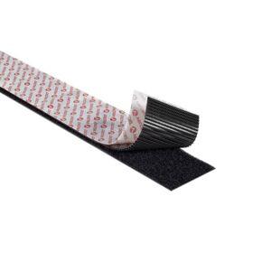 VELCRO® Brand VELCRO® klittenband (harde + zachte kant) zelfklevend 5 meter Zwart