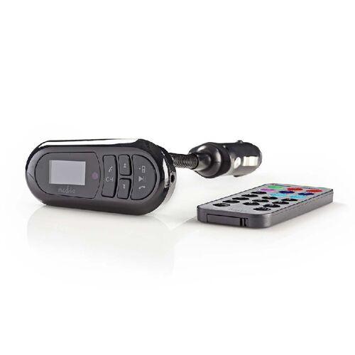 Nedis FM Audiozender Bluetooth 3.5 mm Zwart