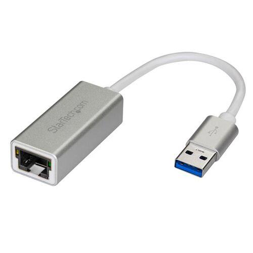 StarTech USB 3.0 naar gigabit ethernet netwerkadapter - zilver
