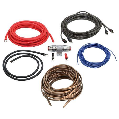 ACV Aansluitset voor Aftermarket Car Audio - Tot 500 watt - Met 5 meter Luidsprekerkabel