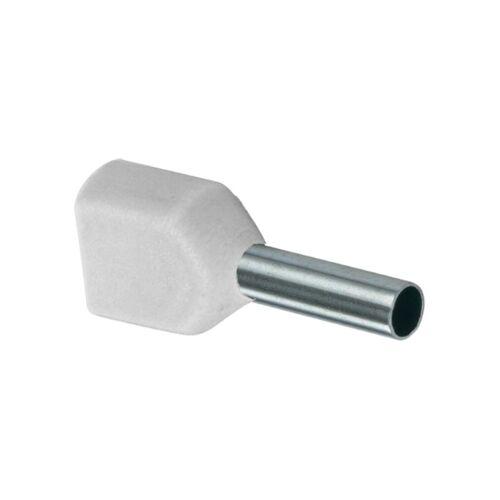 KD Duo Adereindhuls geisoleerd 0,5mm² wit - per 100 stuks