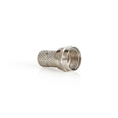 KD 5x F-connectors twist-on 4.5mm