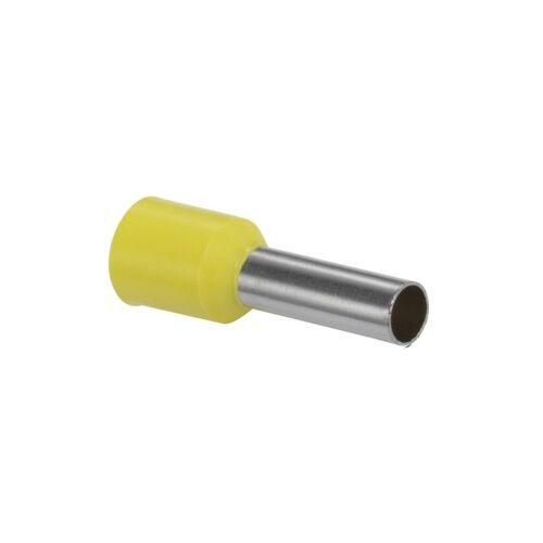 KD Adereindhuls geisoleerd 6mm² geel - per 100 stuks