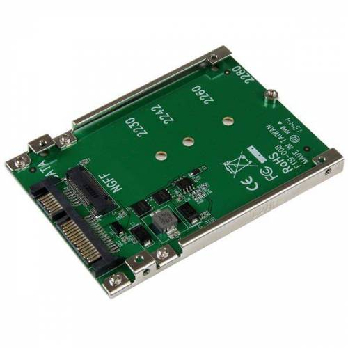 StarTech M.2 NGFF SSD naar 2,5 inch SATA-adapter / converter