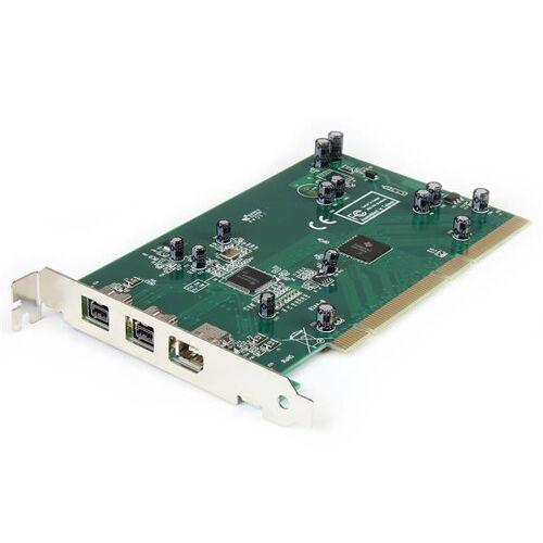 StarTech 3-poort PCI 1394b FireWire Adapter met Digitale Videobewerkingsset