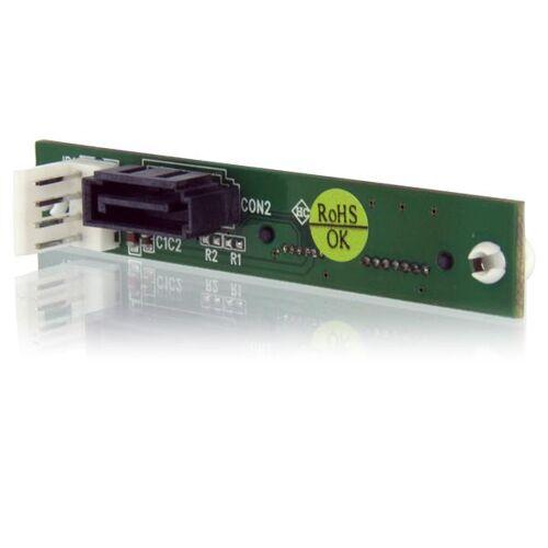StarTech Slimline SATA naar SATA Adapter met SP4 Voeding - Schroefmontage