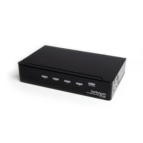 StarTech 4-poorts HDMI-splitter en signaalversterker