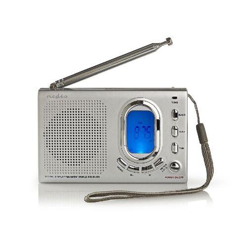 Nedis draagbare wereld radio