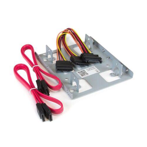 StarTech Dubbele 2,5 inch naar 3,5 inch HDD-steun voor SATA harde schijven - 2,5 inch naar 3,5 inch