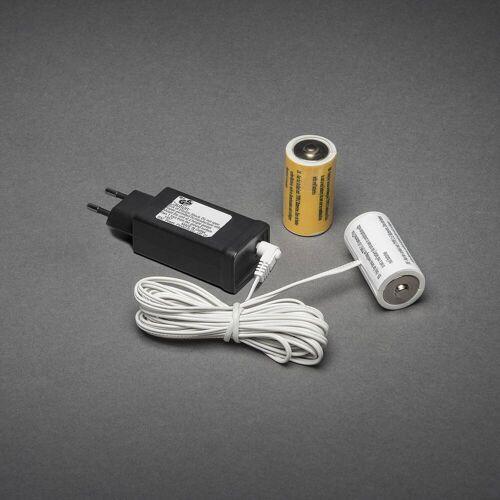 KD 230V - 2x C Adapter voor batterijartikelen