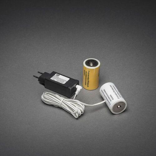 KD 230V - 2x D Adapter voor batterijartikelen
