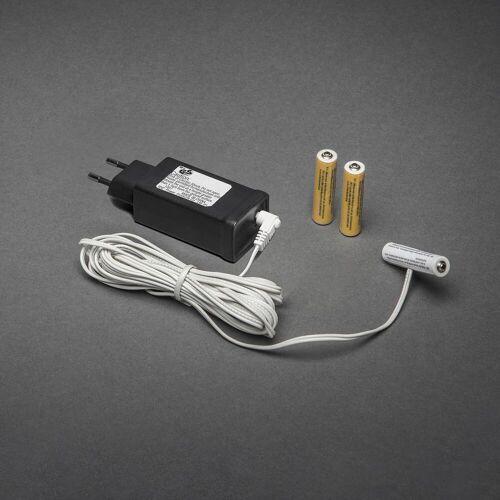 KD 230V - 3x AAA Adapter voor batterijartikelen