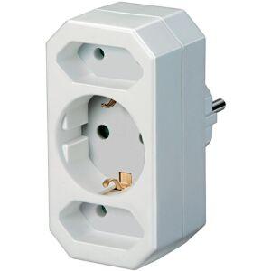 KD Stopcontact splitter (3-voudig) verticaal