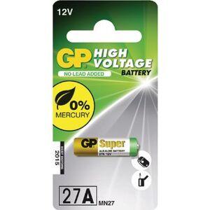 KD 1x GP alkaline batterij 27A 12V