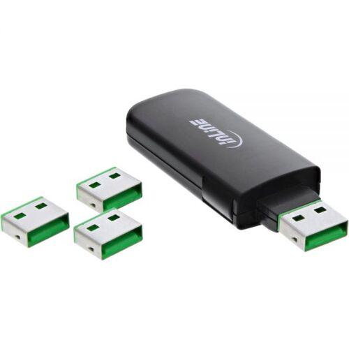 InLine USB Portblocker 4 poorten