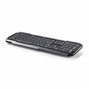 Nedis QWERTY USB Multimedia Toetsenbord