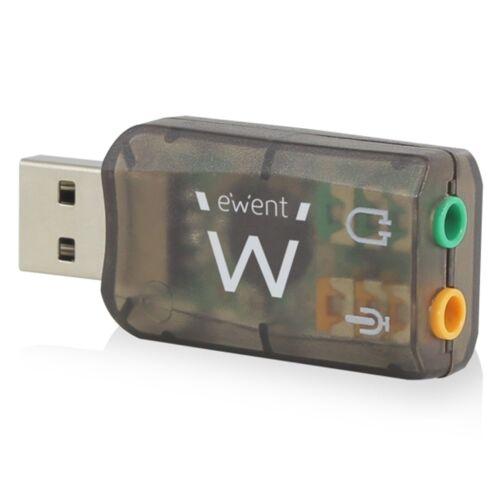 Ewent USB externe geluidskaart 5.1