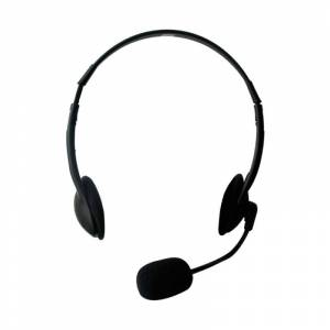 Ewent Headset 2 x 3,5mm jack 2,1m zwart